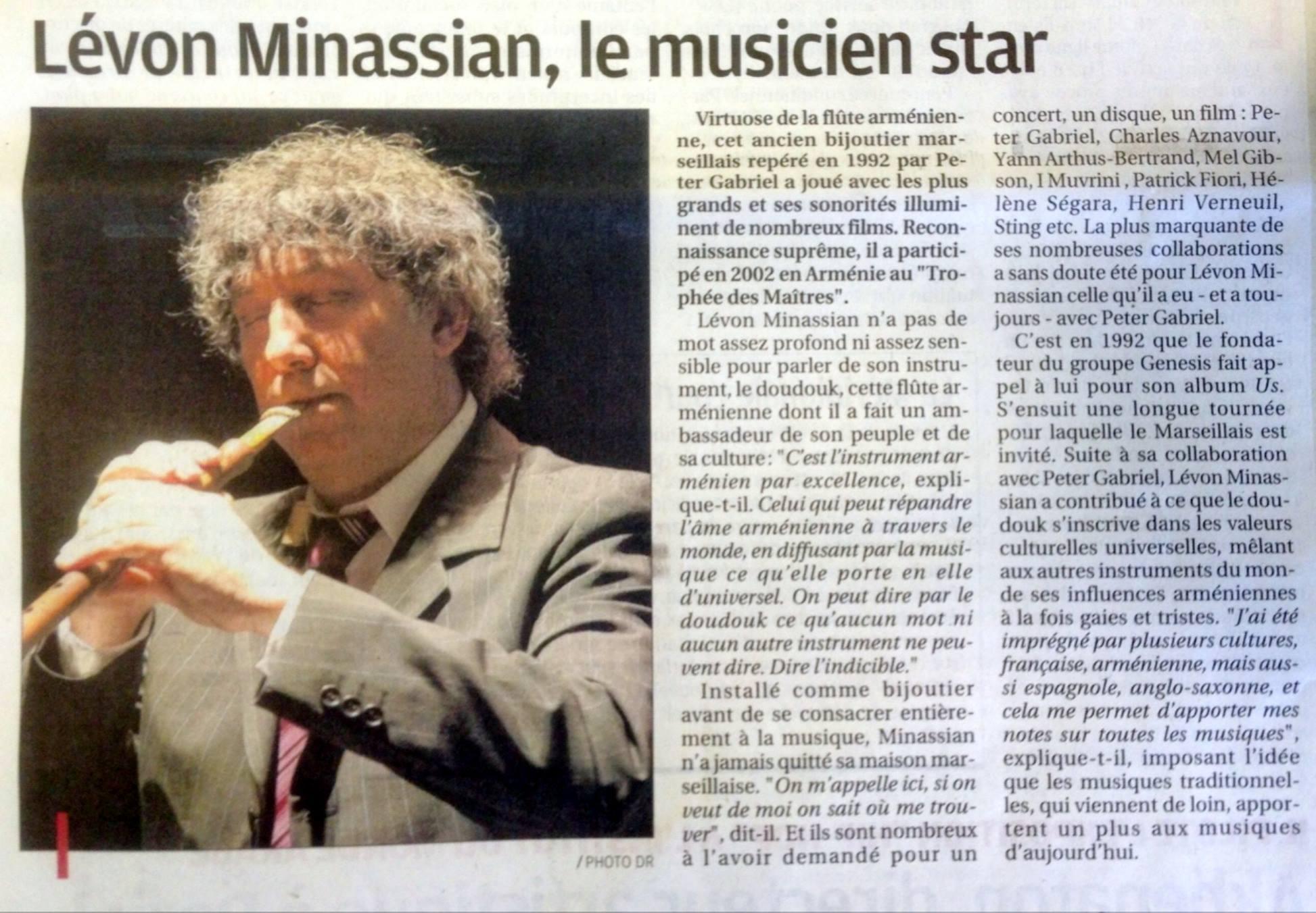 La Provence 22.04.2015