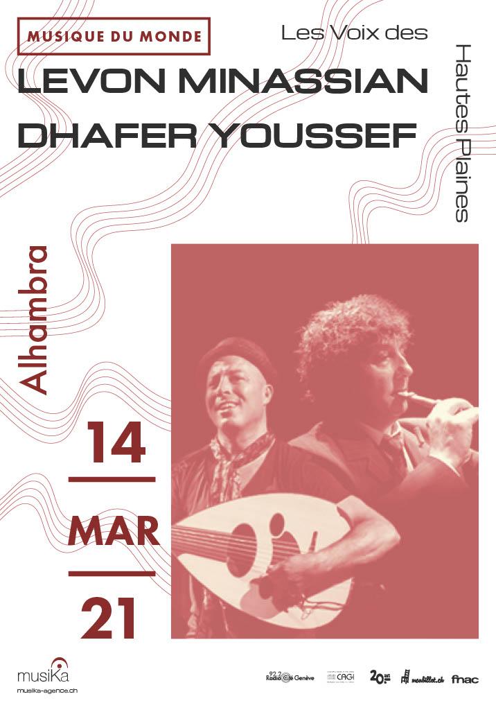 Levon Minassian Dhafer Youssef affiche 21
